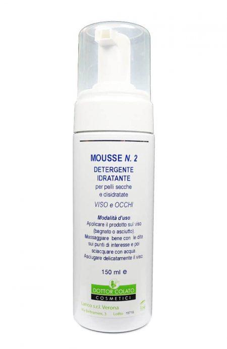 Reinigingsmousse No.2 voor droge huid