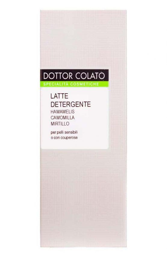 Reiigingsmelk met hamamelis van Dottor Colato