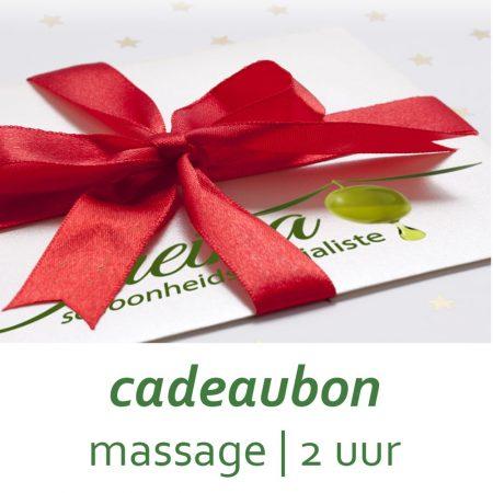 Cadeaubon Massage 2 uur